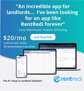 RentRedi landlord software ad