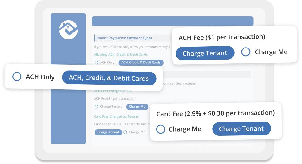 Accept credit, debit, ACH or ACH-only payments