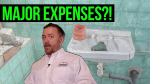text reads: major house flipping expenses!?