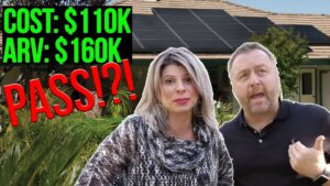 turn down a property deal. youtube thumbnail. text reads: PASS!?